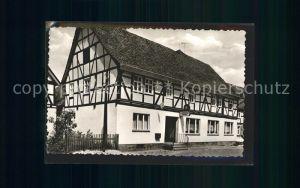 Ippinghausen Gasthaus zur Weidelsburg Kat. Wolfhagen