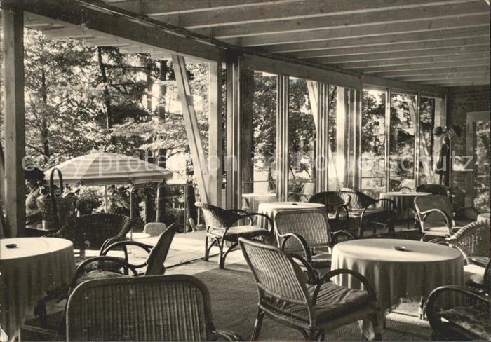 Badenweiler Cafe Waldeck des Sanatoriums Haus Waldeck Kat. Badenweiler