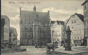 Marburg Lahn Markt Rathaus  Kat. Marburg