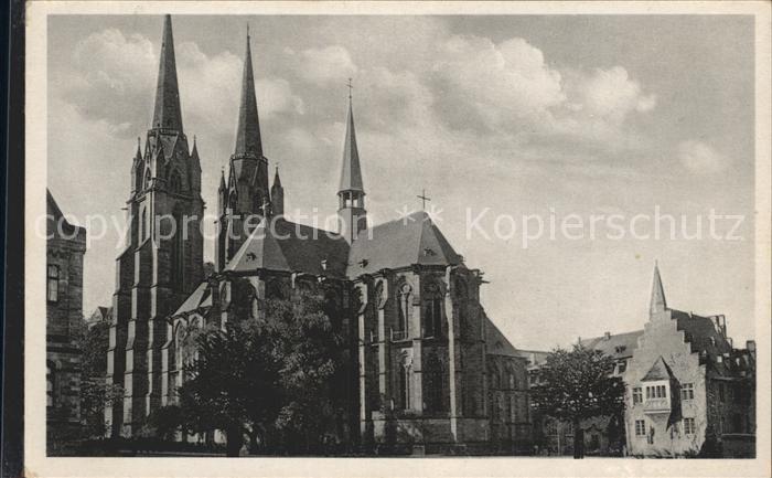 Marburg Lahn St Elisabeth Kirche  Kat. Marburg