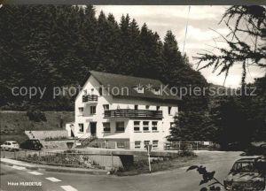 Malberg Eifel Hotel Pension Wagner Haus Hubertus Kat. Malberg
