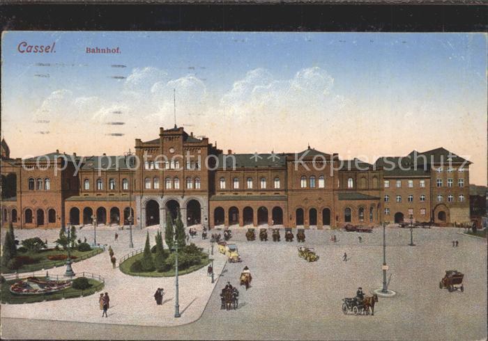 Kassel Bahnhof Kat. Kassel