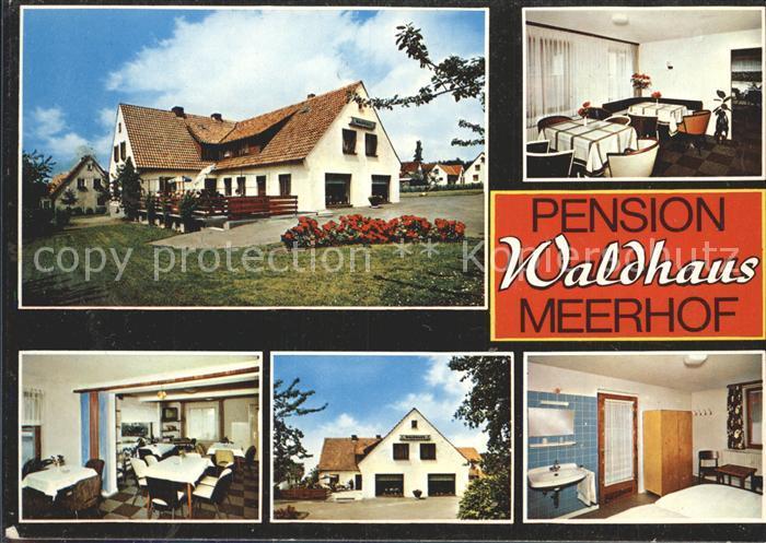 Meerhof Waldhaus Privatpension  Kat. Marsberg