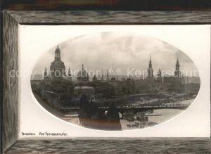 Dresden Terrassenufer  Kat. Dresden Elbe