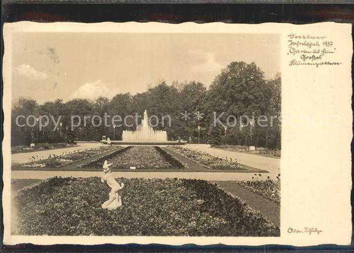 Dresden Jahresschau Garten Heim  Kat. Dresden Elbe