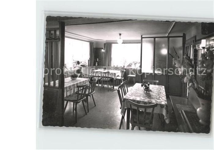 Altmorschen Gasthaus zum Loewen Gastraum Kat. Morschen