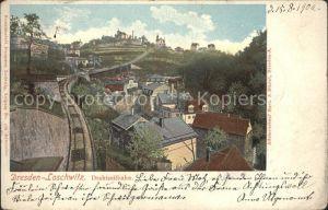 Loschwitz Drahtseilbahn Kat. Dresden