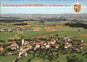 Kirchberg Donau Fliegeraufnahme Kat. Kirchberg ob der Donau