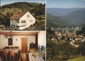 Oppenau Haus Hans Maier Kat. Oppenau Schwarzwald