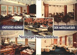 Nienburg Weser Weserschloesschen / Nienburg (Weser) /Nienburg LKR