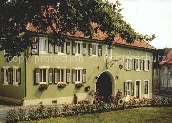 Westhofen Rheinhessen Gasthaus zur Krone / Westhofen /Alzey-Worms LKR