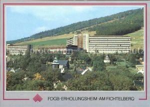Oberwiesenthal Erzgebirge FDGB Erholungsheim am Fichtelberg Kat. Oberwiesenthal