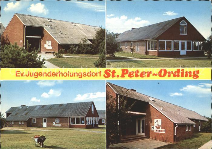 St Peter Ording Ev Jugenderholungsdorf Haeuser Wiking