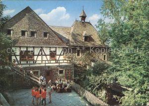 Altena Lenne Jugendherberge in der Burg Altena Kat. Altena