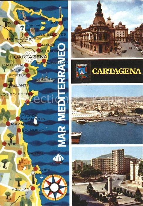 Cartagena Murcia Kirche Panorama Hotels Mar Cartagena Kat. Cartagena