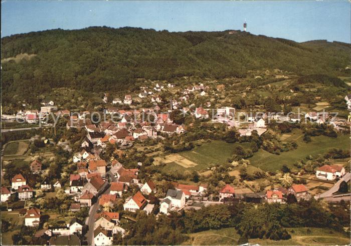 kf26279 Hausberge mit Fernsehturm Kat. Porta Westfalica