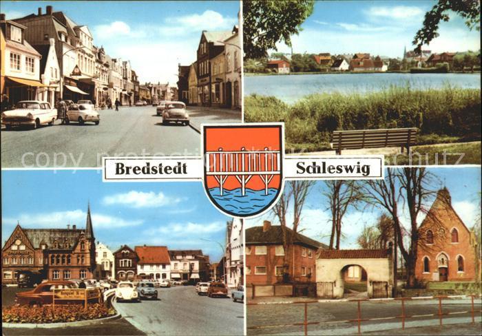 Bredstedt See Strassenansicht  Kat. Bredstedt
