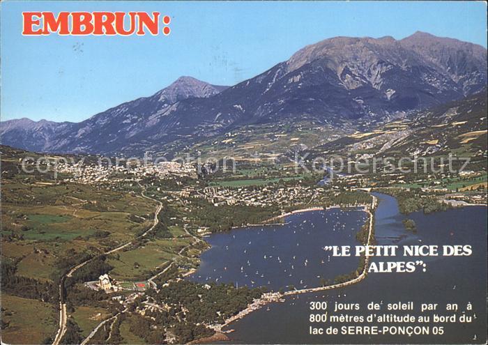 Embrun Vue aerienne Le Petit Nice des Alpes Kat. Embrun