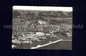 Marseille Fliegeraufnahme Bassin de la Joliette Port Kat. Marseille