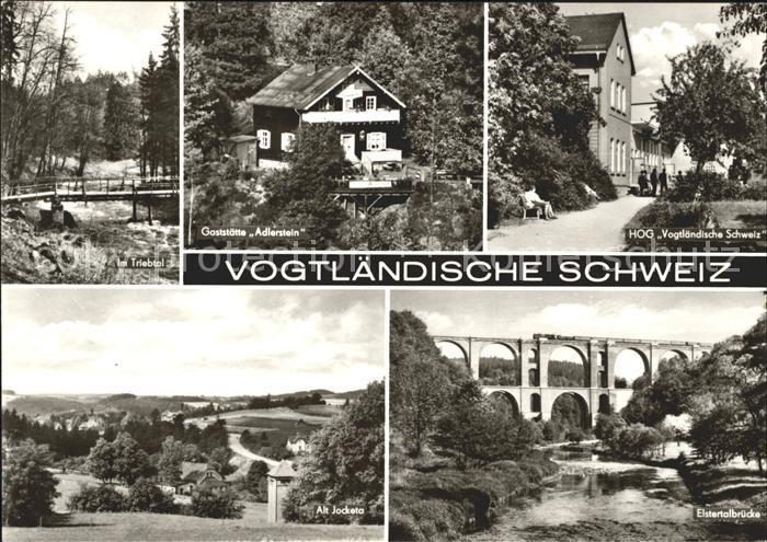 Vogtlaendisches Oberland Restaurant Adlerstein Elstertalbruecke Kat. Vogtlaendisches Oberland