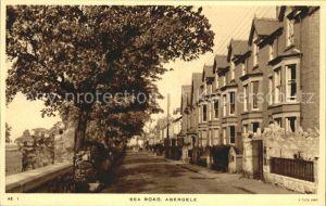Abergele Pensarn Sea Road Tucks Post Card Kat. Conwy