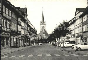 Duderstadt Marktstrasse mit St Servatius Kirche 1000jaehrige Stadt Kat. Duderstadt