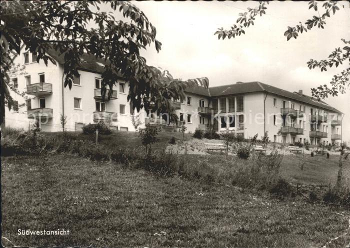 Holzhausen Siegerland Familienferienheim des Blauen Kreuzes in Deutschland eV Kat. Burbach