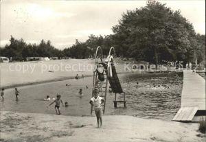Dobbrikow Campingplatz Schwimmbad Kat. Nuthe Urstromtal