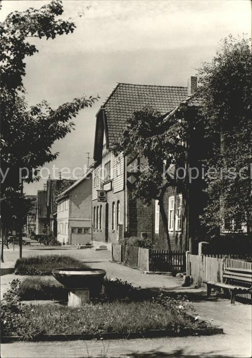 Waldau Thueringen Hauptstrasse Kat. Nahetal Waldau