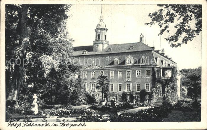 Niederwiesa Schloss Lichtenwalde Kat. Niederwiesa