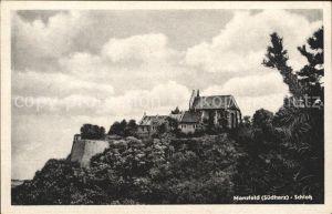 Mansfeld Suedharz Schloss Kat. Mansfeld Suedharz