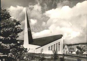 Willingen Sauerland Katholische Kirche Sankt Augustinus Katholische Sankt Augustinus Kirche Kat. Willingen (Upland)