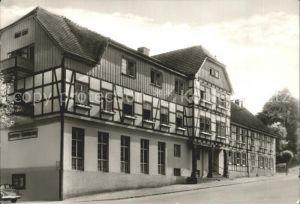 Guentersberge Handwerker Erholungsheim Kat. Guentersberge