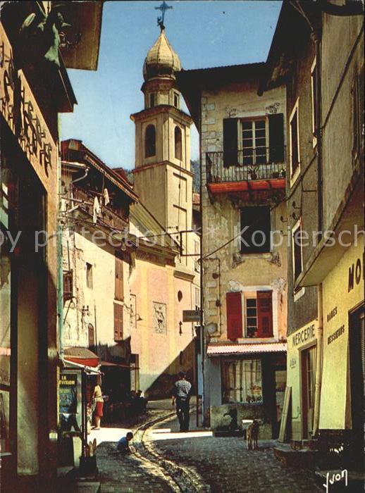 Saint Martin Vesubie Vieille rue Chapelle des Penitents Blancs Kat. Saint Martin Vesubie