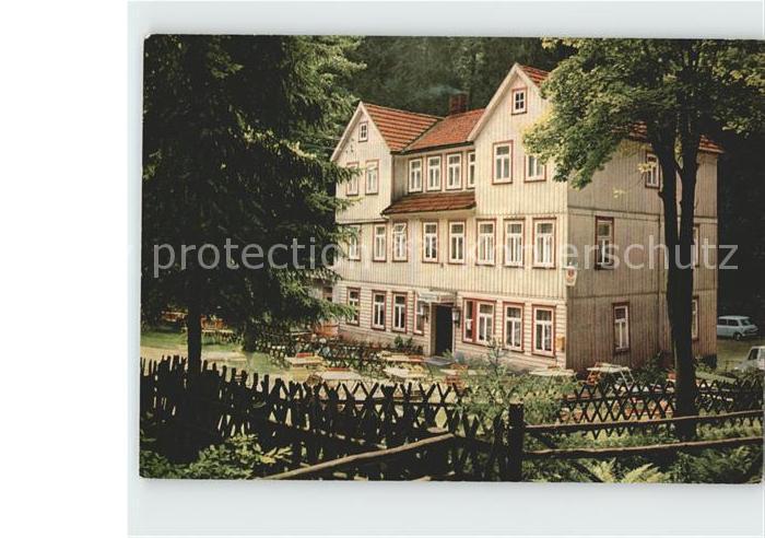 Hohegeiss Harz Hotel Wolfsbachmuehle Kat. Braunlage
