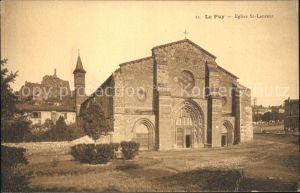 Puy en Velay Le Eglise St Laurent Kat. Le Puy en Velay