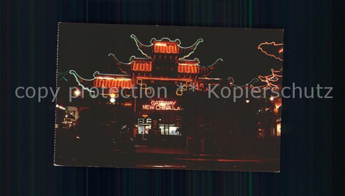 Los Angeles California New Chinatown  Kat. Los Angeles