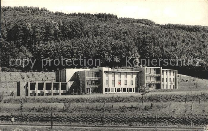 Unsen Erholungsheim Hamburger Schulvereins Haus vor dem Suentel Kat. Hameln