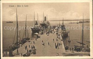 Trieste Molo S Carlo Kat. Trieste