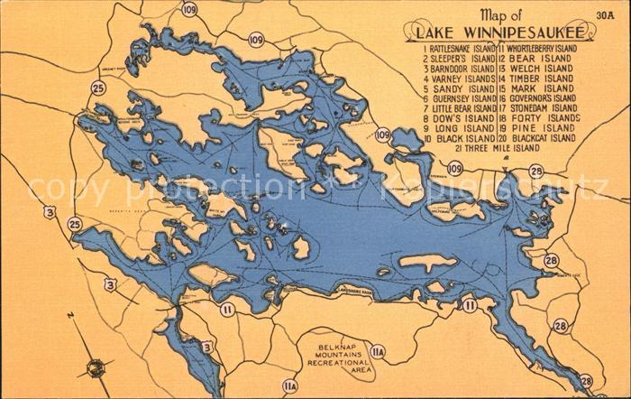 Varney West Virginia Lake Winnipesaukee Timber Blackcat Mark Kat. Varney