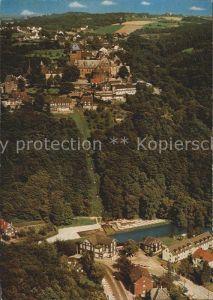 Burg Wupper Fliegeraufnahme Schloss Seilbahn Unterburg  Kat. Solingen