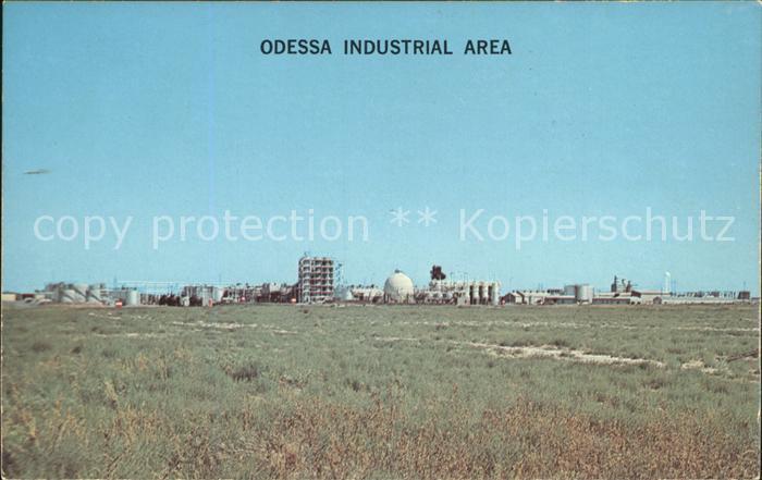 Odessa Texas Industrial Area Kat. Odessa