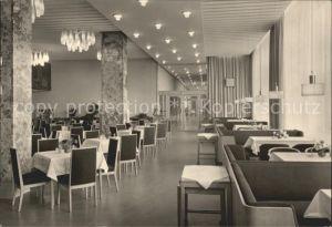 Magdeburg Restaurant Moskwa Hotel International Kat. Magdeburg