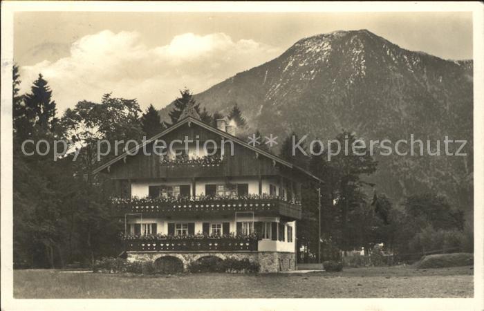 Weissach Rottach Egern Landhaus Woess Alpen Kat. Rottach Egern