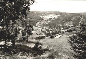 Breitenbrunn Erzgebirge Panorama Kat. Breitenbrunn Erzgebirge