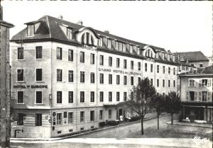 Bourg en Bresse Hotel de L`Europe Kat. Bourg en Bresse