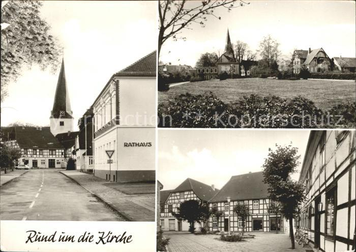 Rahden Westfalen Kirchenpartie Kat. Rahden