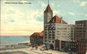 Chicago Illinois Illinois Central Depot Kat. Chicago