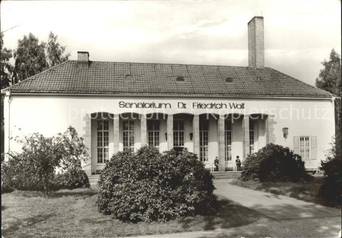 Bad Klosterlausnitz Sanatorium Dr Friedrich Wolf Kat. Bad Klosterlausnitz