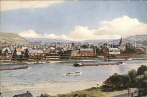 Unkel Blick vom Rhein Kat. Unkel